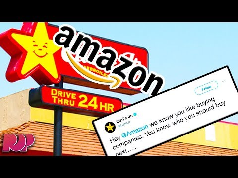 Carl's Jr BEGS Amazon To Buy Them With These Hilarious Tweets
