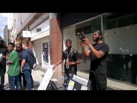 AFRICAN CHRISTIAN PREACHER MEETS HEBREW ISRAELITES - 1WEST ISUPK