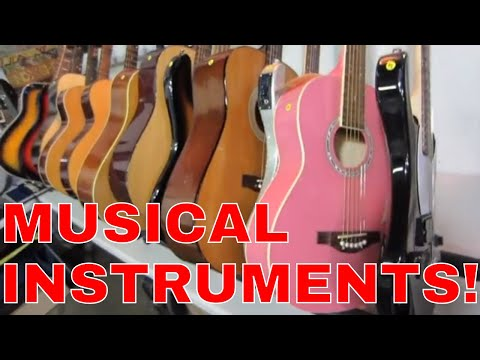 Look What I Found Online Auction Preview-So Many Musical Instruments!