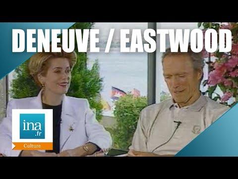 Clint Eastwood et Catherine Deneuve au Festival de Cannes 94 | Archive INA