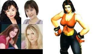 Video Game Voice Comparison-Tina Armstrong (Dead or Alive)