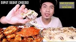 SIPUT SEDUT CHEESE! ULANG SUARA CHEESE! Special & Rare Menu di IZI STESEN. | EATING SHOW W/ ASMR