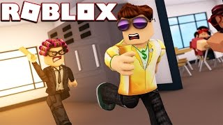 ESCAPING HIGH SCHOOL | Roblox | Roblox Escaping School Obby