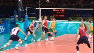 BEST VOLLEYBALL ACTIONS OLYMPICS 2008 (HD)