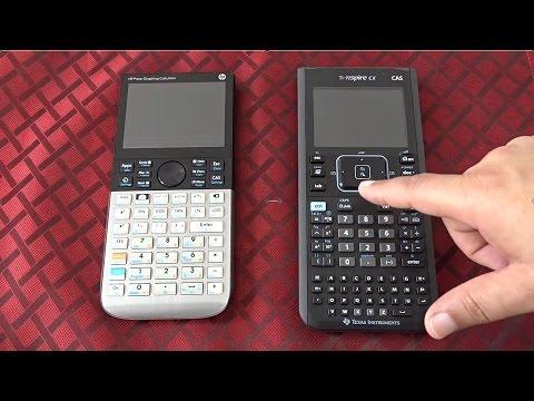 TEXAS TI NSPIRE CX CAS Vs Calculadora Gráfica HP Prime Modo de Provas e  Exames