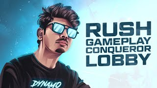 CONQUEROR RANK PUSH WITH HYDRA SQUAD \u0026 CUSTOM ROOMS WITH SUBSCRIBERS   DYNAMO GAMING LIVE