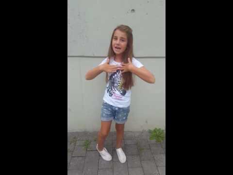 (Adel Tawil) Ich ging wie ein Ägypter gesungen von Selin-Alicia 8jahre