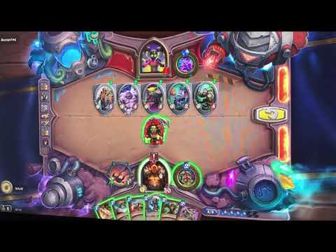 Hearthstone The Boomsday Project Challenge 6 of 7 - Lethal - Myra Rotspring The wall