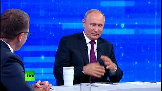 I've got proof I'm not an alien – Putin