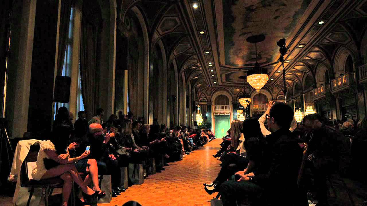 Lucian Matis Fall/Winter 2012-2013 in 2 Minutes