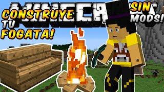 Minecraft - Como hacer una Fogata Sin Mods!! (Con Webcam!) - ESPAÑOL TUTORIAL