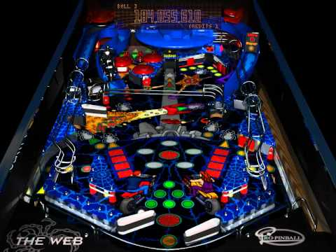 DOS Game: Pro Pinball - The Web