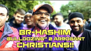 "Speakers Corner: [ 17-09-17 ] Br-Hashim ""BULLDOZING"" 2 arrogant Christians!!"