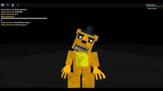 roblox family diner golden freddy's voice :3