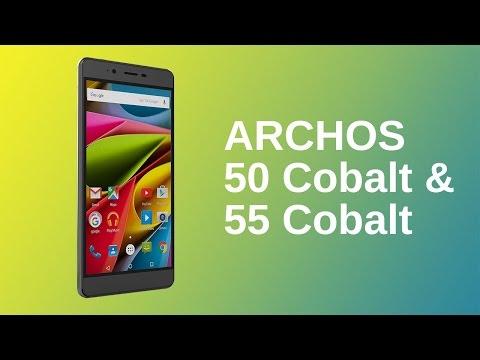 ARCHOS 50 and ARCHOS 55 Cobalt - Product presentation