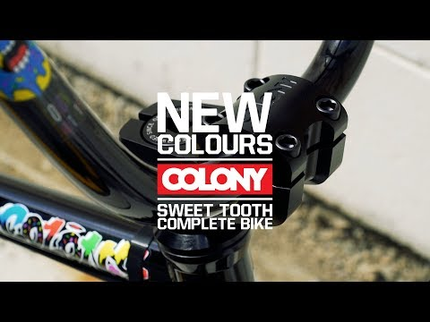 The stealth looking Alex Hiam signature Colony Sweet Tooth Pro complete bike is out right now! Thanks for watching, make sure you subscribe: ...