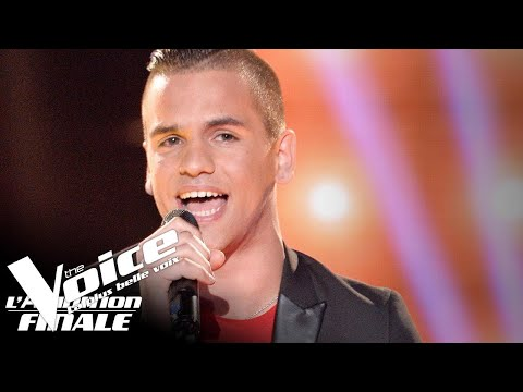 Bruno Mars - That's What I Like | Florent Marchand | The Voice France 2018 | Auditions Finales