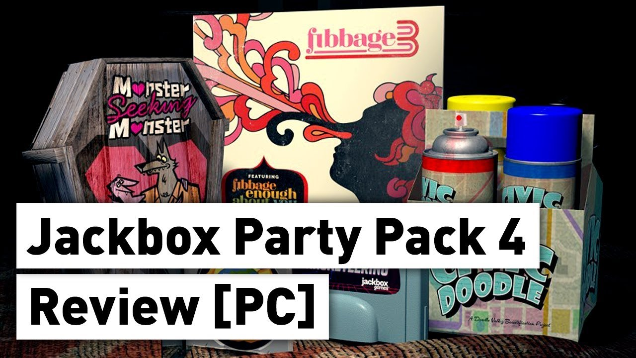 The Jackbox Party Pack 4 Review PC - YouTube