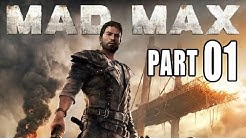Let's Play Mad Max Gameplay German Deutsch PS4 Part 1 - Blutiger Neuanfang