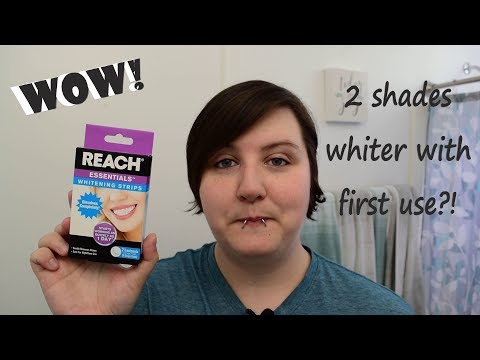 Reach Whitening Strips Review | Dollar Tree