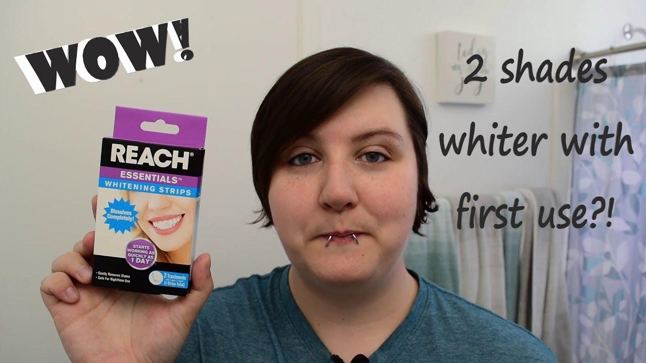 Reach Essentials Whitening Pen Vs Dazzling White Pen Dollar Tree