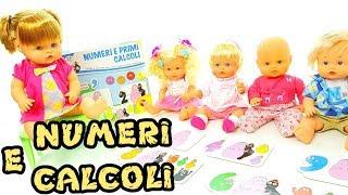 IMPARIAMO I NUMERI CON LE BAMBOLE NENUCO - Barbapapa giocattoli, episodio per bambini in italiano