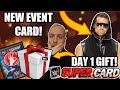 CLAMING MY FREE CARDBACK GIFT & ROAD TO GLORY TALK! Noology WWE SuperCard Season 4!