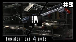 #3 Série de Mods Resident Evil 4 - Mods de Armas - Novas Animações + Sons de Balas.