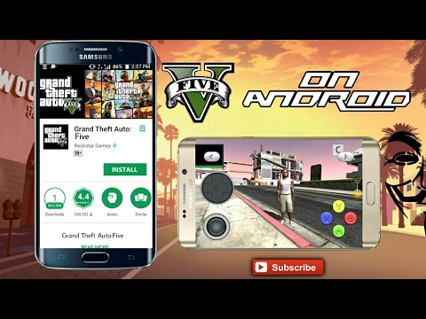 GTA 5 ON ANDROID ( PLAY STORE)🎮 - YouTube