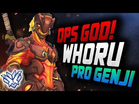 WHORU is a Genji God - KOREAN DPS! [ OVERWATCH SEASON 12 TOP 500 ] thumbnail