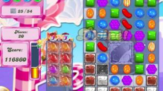 Candy Crush Saga Level 499 Clear all the Jelly!