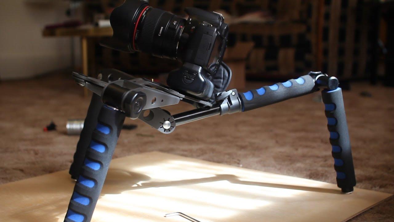Video Camera Stabilizer >> Spider Steady Rig, DSLR Rig Movie Kit, adjustable shoulder ...