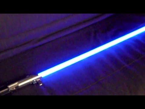 LUKE SKYWALKER FORCE FX LIGHTSABER #03 UNBOXING 2015
