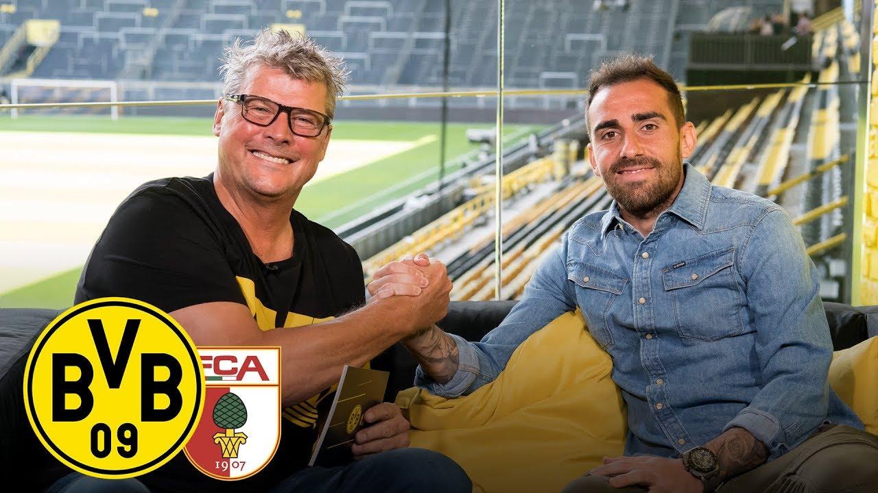 """Mehr Tore als letzte Saison"" | Paco Alcácer im Feiertagsmagazin | BVB - FC Augsburg"