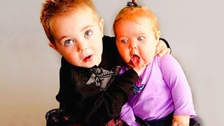 Troubled Baby and Siblings Moments  Funny and Fails 2020