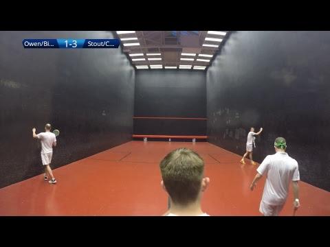 Rackets | Semi Final British Open Doubles 2017 #1