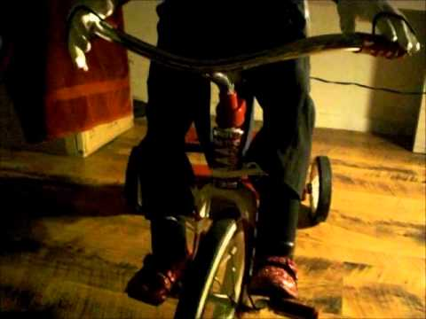 Saw Billy Puppet With Tricycle