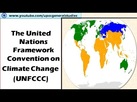 UNFCCC:The United Nations Framework Convention on Climate Change (UNFCCC) :Climate change