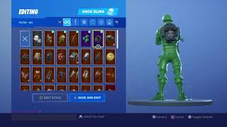 BEST Combos With the Toy Soldier Skins in Fortnite