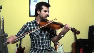 Mohabbatein theme (violin) - Hamza