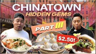 THE BEST CHINATOWN CHEAP EATS Pt. III (Eat for $5)...MUST TRY!