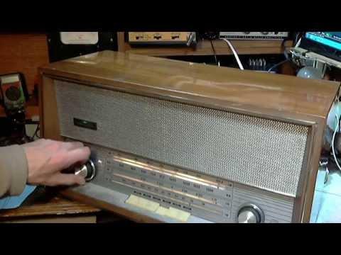 Florida Yugoslavian-built AM/FM/SW Tube Radio Video #2 - Fixing the Hum
