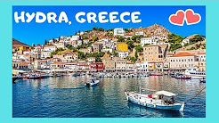HYDRA (ΥΔΡΑ), one of the most BEAUTIFUL islands in GREECE