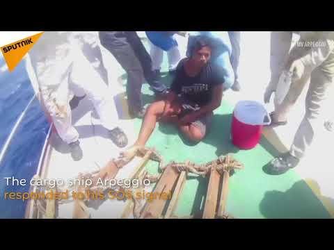 Indonesian Boy Spends 49 Days Adrift at Sea