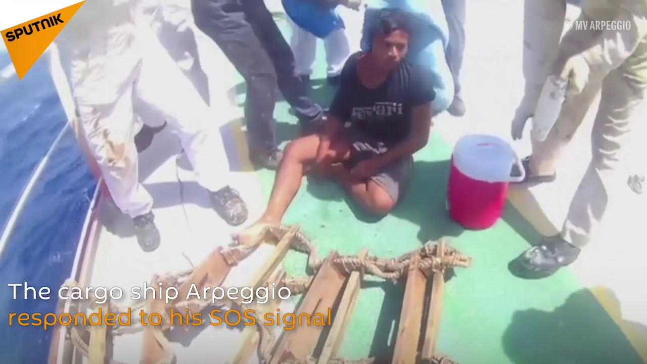 19-year-old Indonesian spent 49 days alone in the Pacific Ocean