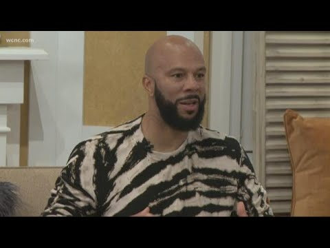 Common Sits Down With NBC Charlotte Discusses New Book, Trauma, Dating