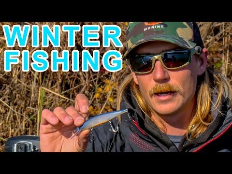 ❄ COLD Water Winter Jerkbait Bass Fishing Tips ❄