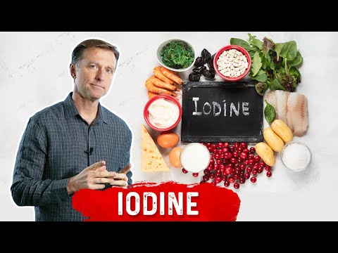 Iodine, the Ultimate Healing Trace Minerals for Cysts, Thyro