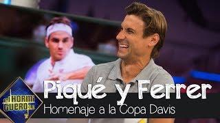 David Ferrer se emociona por su homenaje en la Copa Davis - El Hormiguero 3.0