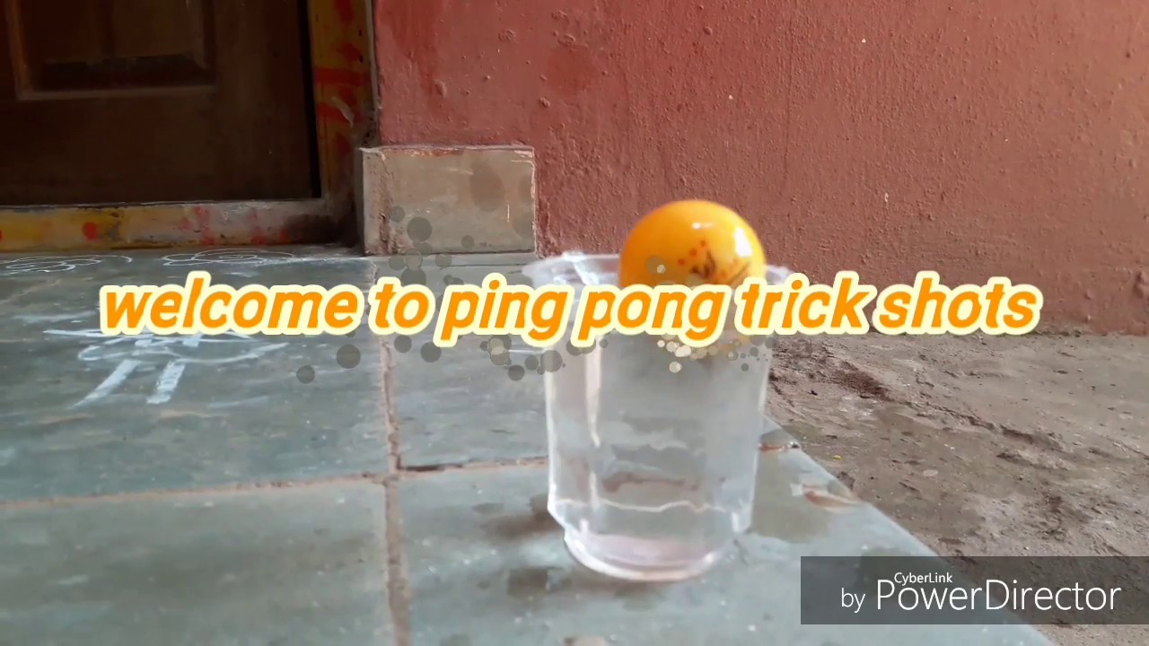 Ping pong trick shots / Dude Perfect